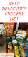 keto beginner grocery list keto low carb and keto recipes