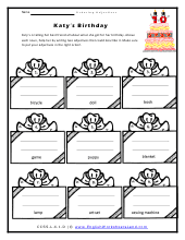 order of adjectives worksheets