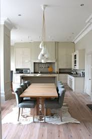 open plan kitchen living room flooring wood floors