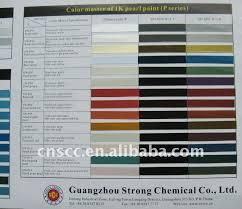 perfect performance and shiny acrylic paint color chart buy