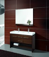Double Bathroom Sink Cabinets Modern Double Sink Bathroom - Bathroom sinks and vanities for small spaces