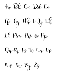 calligraphy font 5 simple tips to start lettering brush pen calligraphy dip