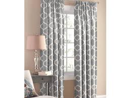 Curtains 100 Length Positude Blue And White Curtain Panels Tags Blue Print Curtains