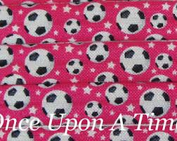 soccer wrapping paper pink soccer etsy