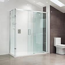 decem sliding door shower enclosure roman showers