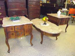 value of marble top tables vintage