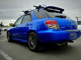 subaru blue 2006 subaru wrx wagon world rally blue new built motor i club