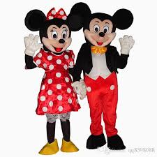 quality mickey minnie mouse mascot mascot costume