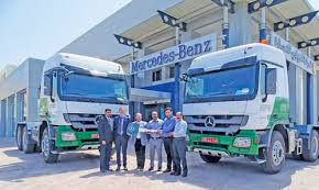 mercedes actros trucks mercedes oman delivers actros trucks to sts oman muscat daily