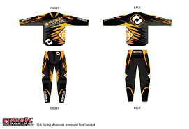 motocross jersey custom bold masculine t shirt design for james burry by sergio coelho
