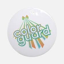 colorguard ornament cafepress