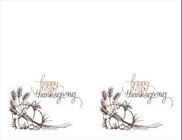 thanksgiving menu office templates