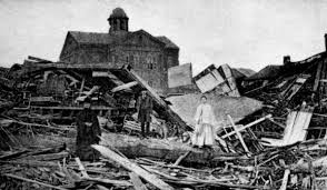 the galveston hurricane of 1900 taking the city by storm