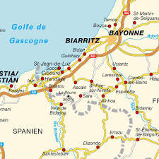 Map Of St Martin Map Of The Basque Country France Maps And Directions At Map
