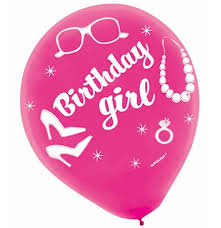 birthday girl birthday girl party balloons sweet 16 party store