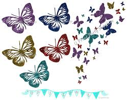 butterfly free clipart