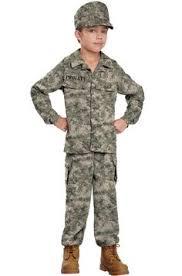 child boys kids army soldier fancy dress costume party uniform