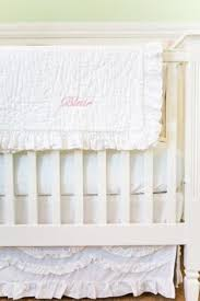 Pottery Barn Ruffle Crib Skirt Madison Fixed Gate 3 In 1 Crib Pottery Barn Kids 699 Cribs