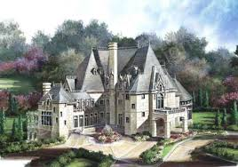 chateau style chateau novella luxury house plan small castle plan