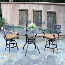 Patio Bar Height Dining Set - patio dining sets bar height minimalist pixelmari com