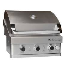 Backyard Grill 4 Burner Gas Grill by Turbo Elite 3 Burner Built In Gas Grill Barbeques Galore