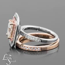 white gold engagement ring with gold wedding band white gold engagement ring with gold wedding band 4 ifec ci