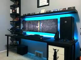 Gaming Room Decor Best Bedroom Gaming Setup Best Bedroom Gaming Setup Gaming Bedroom