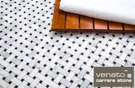free shipping 10 95sf basketweave carrara venato honed mosaic