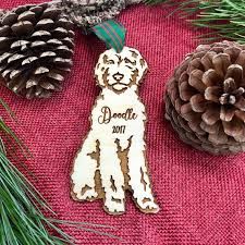 personalized goldendoodle ornament personalized