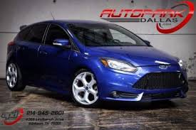 2014 ford focus st blue used ford focus st for sale in dallas tx cars com