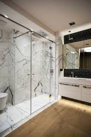Bathroom In Italian by Modern Apartment Interior Design Shower Are Finished In Italian