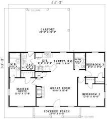 3 Bedroom 2 Bath Open Floor Plans Floor Plan For A Small House 1 150 Sf With 3 Bedrooms And 2 Baths