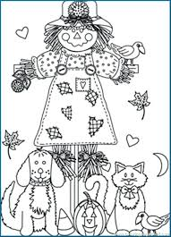 Scarecrow Coloring Pages Printable Fall Coloring Pages Free Fall Coloring Page