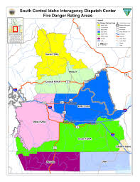 Idaho Fires Map South Central Idaho Interagency Dispatch Center Indices