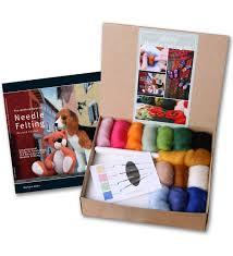 felt kits ashford handicrafts needle felting starter kit