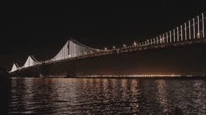 Bay Bridge Lights World U0027s Largest Led Light Sculpture Lights Up San Francisco U0027s Bay