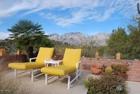 Pvc Patio Furniture Cushions Mediterranean Patio With Exterior Tile Floors U0026 Fence In Tucson