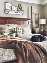 Brown Bedroom Ideas by Mix Of Grey And Brown With A Little Touch Of Rustic Bedroom