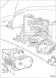 lightning mc queen racing coloring pages hellokids