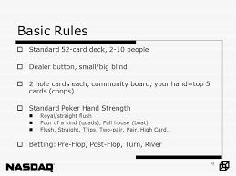 Big Blind Small Blind Rules Brain Teasers Answer 3 Quantitative Finance Society Gambling