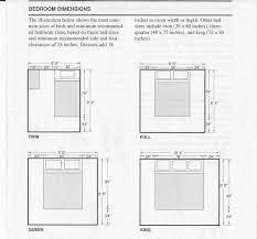 bedroom bedroom sizes plain on bedroom regarding typical size 4