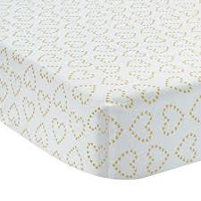 Black And Gold Crib Bedding Amazon Com Lambs U0026 Ivy Confetti Heart 4 Piece Crib Bedding Set