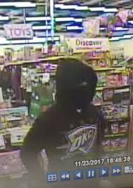 masked robs tulsa dollar store on thanksgiving day