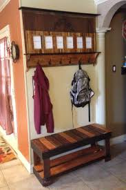best 25 pallet coat racks ideas on pinterest pallet towel rack
