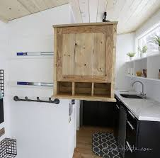 House Features Brilliant Tiny House Features 500 Diy Elevator Bed Built With