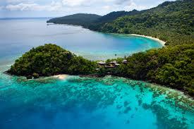 a private tropical island in fiji laucala island swain