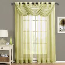 furniture low price sheer curtains for home decorations white