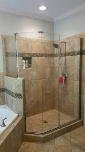 Angled Shower Doors Shower Enclosures Capital Construction Glass