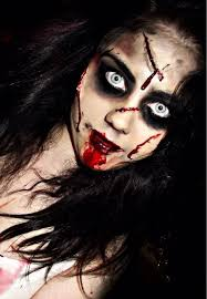 Scary Halloween Costumes Girls 25 Scary Face Paint Ideas Gore