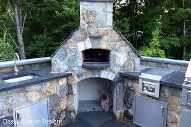 Outdoor Kitchen Pizza Oven Design Outdoor Kitchen Pizza Oven Westport Ct Classic Garden Design